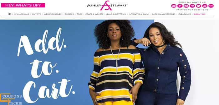 Ashley Stewart Plus Size Clothing Coupons