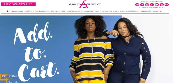 Ashley Stewart Plus Size Clothing Coupons