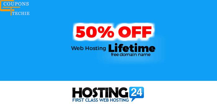Hosting24 50% Off on Web Hosting
