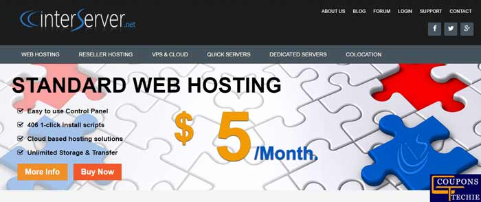 InterServer Web Hosting Money Saving Promo Codes