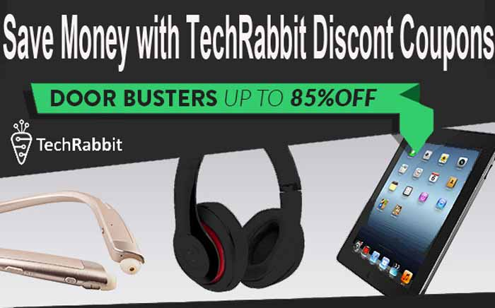 TechRabbit Promo Codes for get some discounts